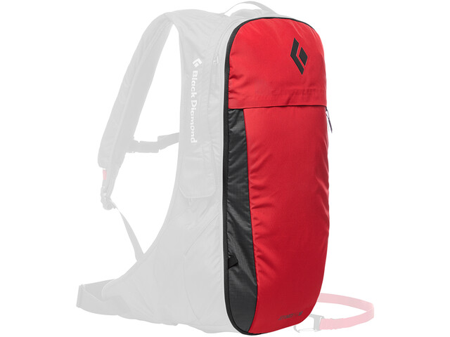 Black Diamond JetForce Pro Booster Selkäreppu 10l, red